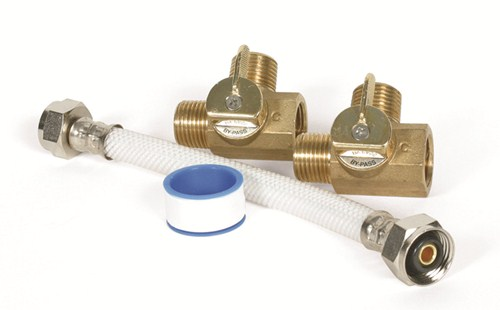 """Camco RV Winterization Bypass Kit w/ 8"""" Hose for 6 Gallon"""