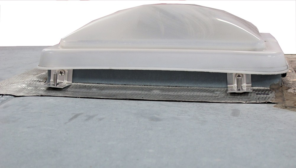 Camco Aero Flo Rv Roof Vent Cover W Swing Open Lid