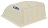 Camco RV and Enclosed Trailer Roof Vent Cover w/ Detachable Louvered Screen - White