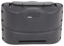 Camco RV Polyethylene Propane Tank Cover for (2) 20-lb Steel Tanks - Black