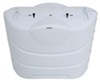 Camco RV Polyethylene Propane Tank Cover for (2) 20-lb or 30-lb Steel Tanks - Polar White