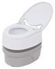 Camco Travel Toilet - 5.3 Gallon