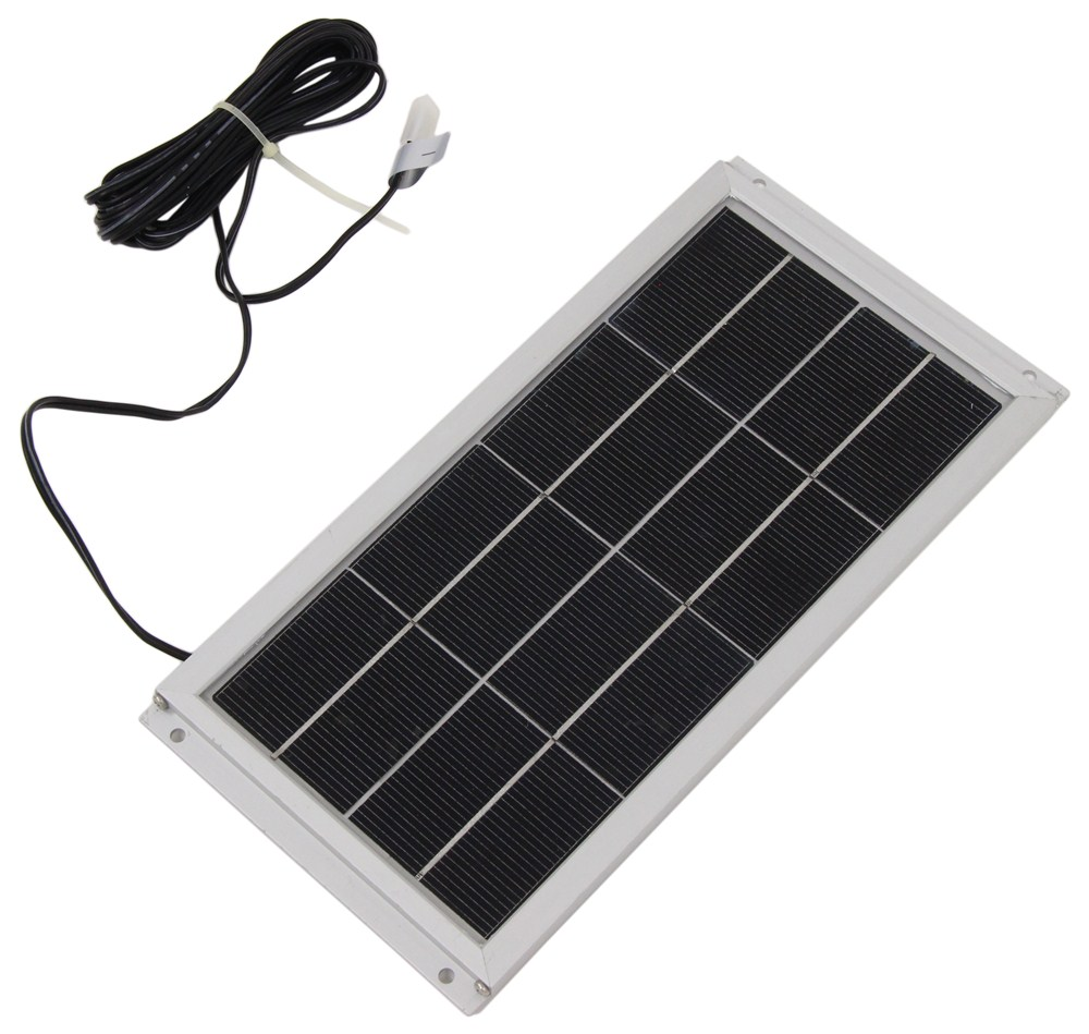 Camco Rv Refrigerator Vent Cover Solar Panel And Fan Camco