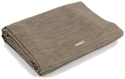 Camco Premium RV Leisure Mat w/ Storage Bag and Stakes - 15' Long x 7' Wide - Brown