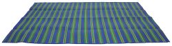 "Camco RV Handy Mat - 108"" Long x 72"" Wide - Blue w/ Stripes"