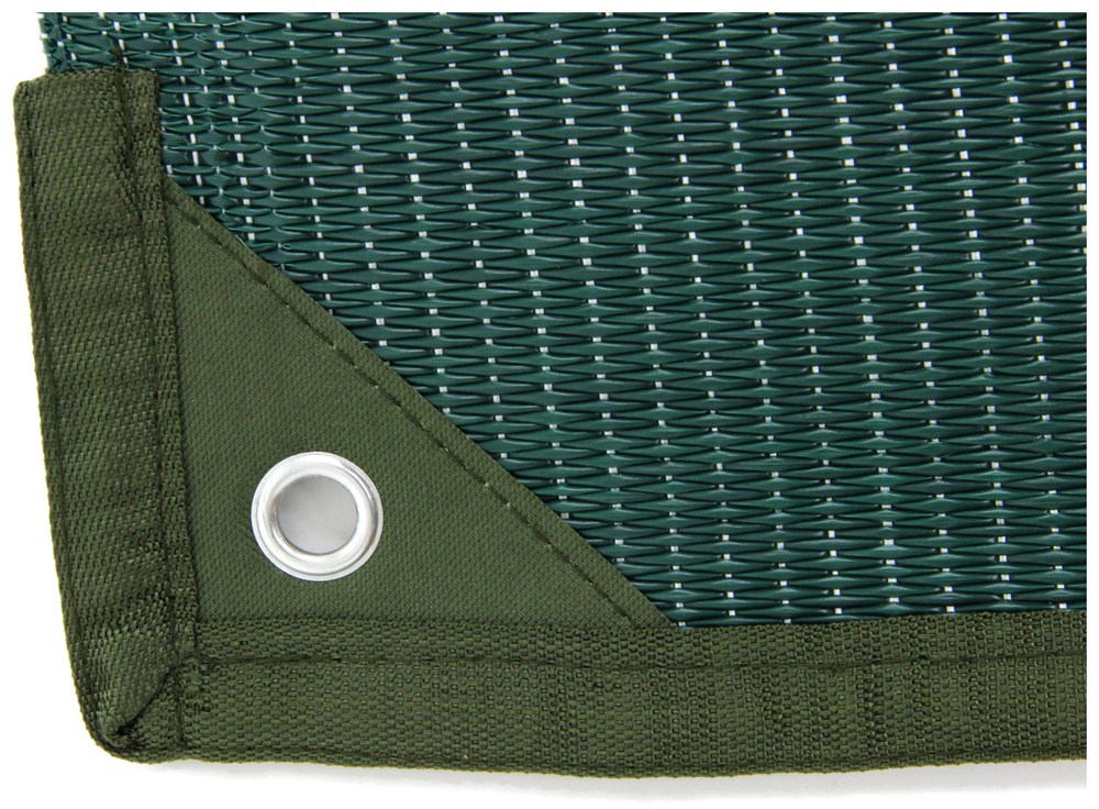Camco Reversible Rv Leisure Mat W Stakes 12 Long X 9
