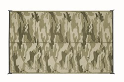 Camco Reversible RV Leisure Mat - 12' Long x 9' Wide - Camouflage