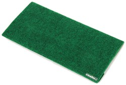 "Camco RV Step Rug - 18"" Wide - Green"