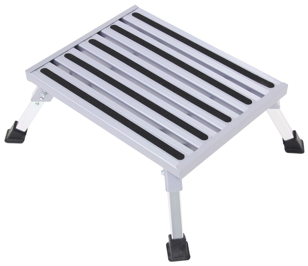 Camco Fixed Height Platform Step Aluminum 19 Quot Long X 14