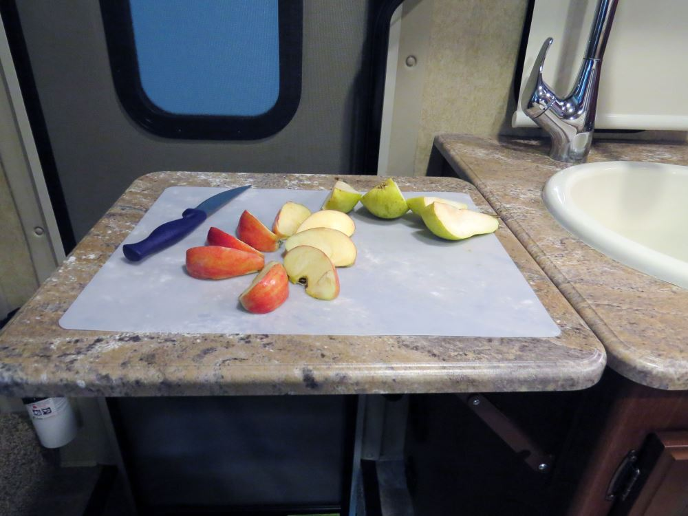 Camco Decor-Mate RV Stovetop Silencer, Countertop, and Cutting Board ...