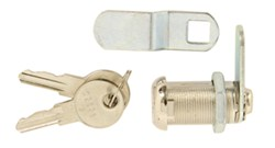 "Camco Cam Lock - Straight or Offset - Key Operated - 1-1/8"" Thick"