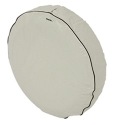 "Camco Vinyl Spare Tire Cover - 24"" Diameter - Colonial White"