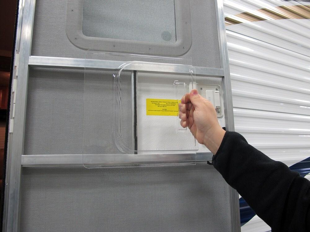Camco replacement rv screen door slide 12 x 11 1 2 for Screen door repair