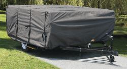 Camco UltraGuard Pop-Up Camper Cover - 12'-14' Long