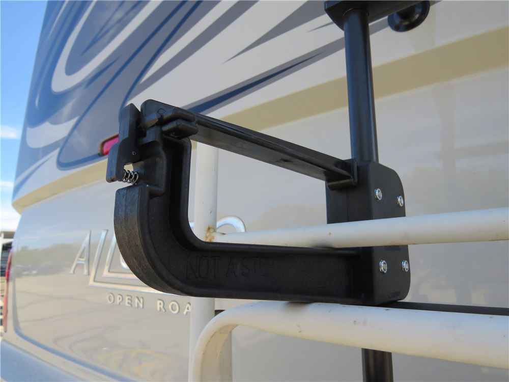 Clamp N Carry Chair Rack For Standard Rv Ladders Nylon