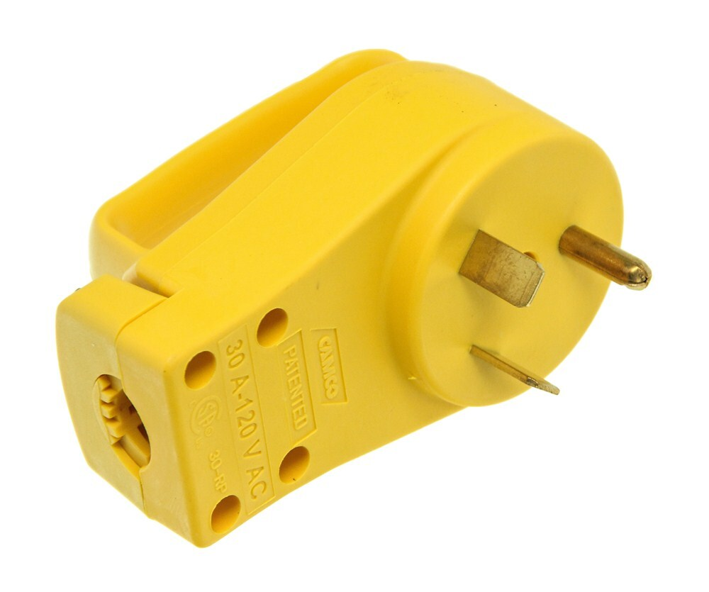 Power Grip Replacement Rv Power Cord Plug W   Handle