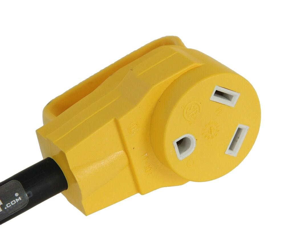 rv wiring generator adapter 30 amp female 30 amp male 3 prong twist