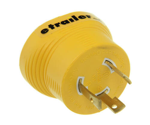 generator adapter 30 amp female 30 amp male 3 prong twist lock plug