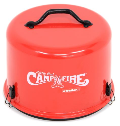 Little Red Campfire Portable Gas Campfire Camco Grills And