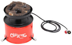 Camco Big Red Portable Gas Campfire w/ 10' Long Hose