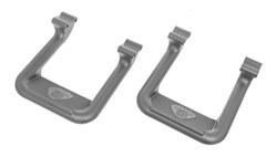 Carr 2001 Ford Ranger Tube Steps - Running Boards
