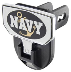 "Carr Hitch Mounted Step for 2"" Trailer Hitches - Aluminum - Navy Graphic"