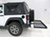 2014 jeep wrangler hitch cargo carrier stromberg carlson fixed fits 2 inch in use