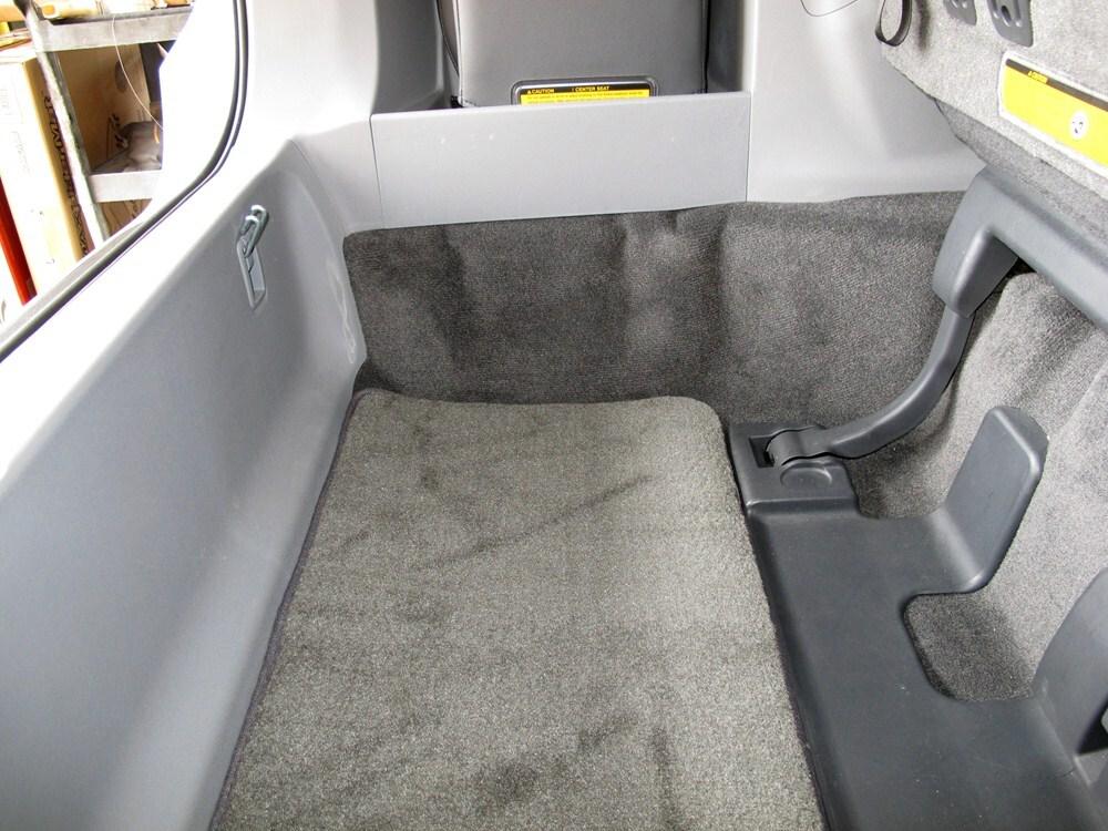 2012 Toyota Sienna Covercraft Premier Custom Cargo Area