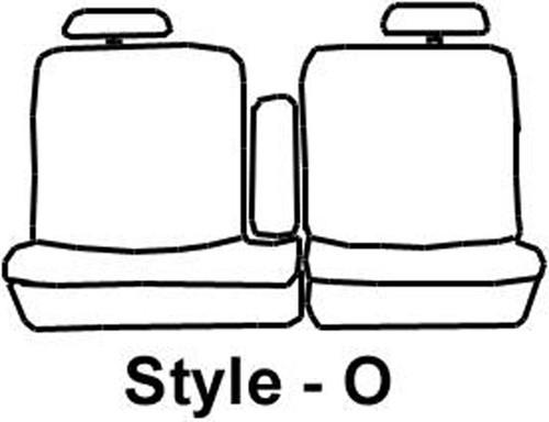 2001 Toyota Tundra Covercraft Seatsaver Custom Seat Covers