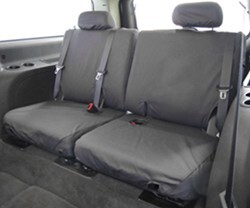 Covercraft SeatSaver Custom Seat Covers - Third Row - Charcoal Black