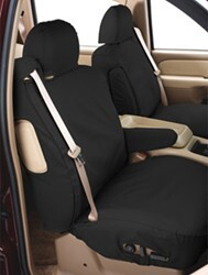 Covercraft Work Truck SeatSaver Custom Seat Covers - Front - Charcoal Black