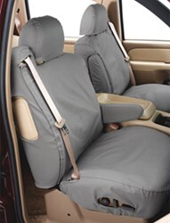 Covercraft SeatSaver Custom Seat Covers - Front - Gray