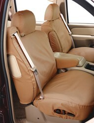 Covercraft Work Truck SeatSaver Custom Seat Covers - Front - Tan