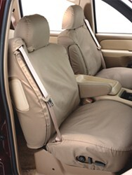 Covercraft Work Truck SeatSaver Custom Seat Covers - Front - Taupe