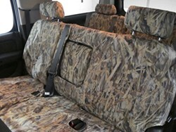 Covercraft TrueTimber SeatSaver Camo-Pattern Seat Covers - Second Row - Flooded Timber