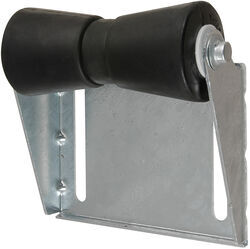 CE Smith Deep V Keel Roller Assembly for Boat Trailers - Galvanized Steel/Black Rubber - 8""