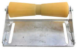 CE Smith Deep V Keel Roller Assembly for Boat Trailers - Galvanized Steel and Yellow TPR - 12""