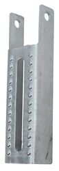"CE Smith Light Duty, Vertical Bunk Bracket - Galvanized Steel - 7-1/2"" Tall - Qty 1"