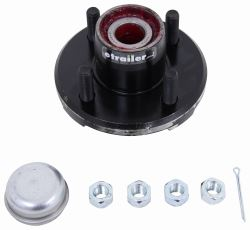 CE Smith Trailer Hub Assembly w/ Carrying Case for 2,500-lb Axles - 4 on 4 - Pre-Greased - CE13110