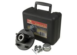 CE Smith Trailer Hub Assembly w/ Carrying Case for 3,500-lb Axles - 5 on 4-1/2 - Pre-Greased