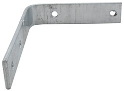 "Mounting Bracket for Trailer Fender - 13""/14""/15"" Wheels - Galvanized Steel - Qty 1"