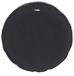 "CE Smith Spare Tire Cover - 29"" Diameter x 9-1/2"" Wide Trailer Tires - Black"