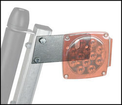 CE Smith Light Mounting Brackets for <strong>Bunk</strong>- and Roller-Style Boat Trailer <strong>Guide</strong>-Ons - Qty 2 - CE27630A