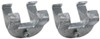 CE Smith I-Beam Clamps for Boat Trailers - Galvanized Steel - 2 Sets