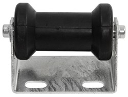 CE Smith Offset Spool Roller Assembly for Boat Trailers - Galvanized Steel w/ Black Rubber - 5""