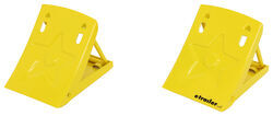 CE Smith Fold-Up Wheel Chocks - Steel - Qty 2