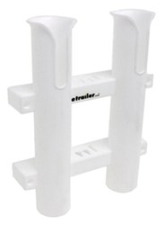 CE Smith Tournament Double Fishing Rod and Tackle Rack - Polypropylene - White