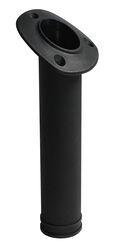 "Fishing Rod Holder - 30-Degree Flush Mount - 1-3/4"" ID - Nylon - Black"