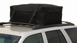 Pilot Navigator Rooftop Cargo Carrier Bag - Weather Resistant - 13 Cu Ft