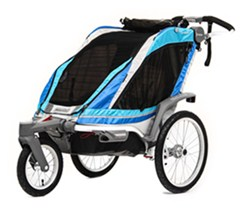 Thule Chinook Stroller and Jogger with Accessories - 1 Child - Blue